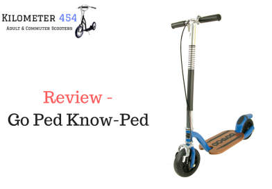 Go Ped Know-Ped Adult Kick Scooter Review