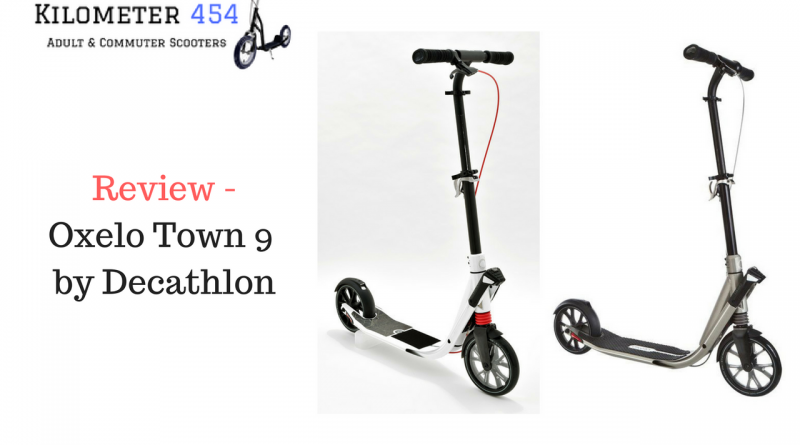 Oxelo Town 9 Kick Scooter Review
